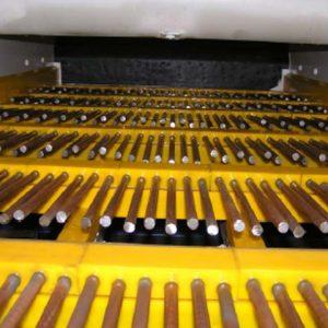Vgraditev vibropalic na predsejevalnem stroju