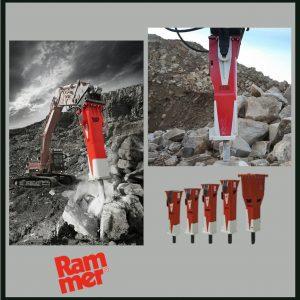 Hidravlična kladiva RAMMER